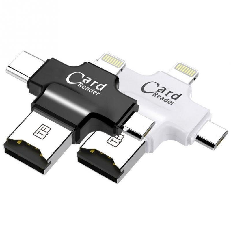 4 In 1 Usb Otg Card Reader For Iphone And Android (1)