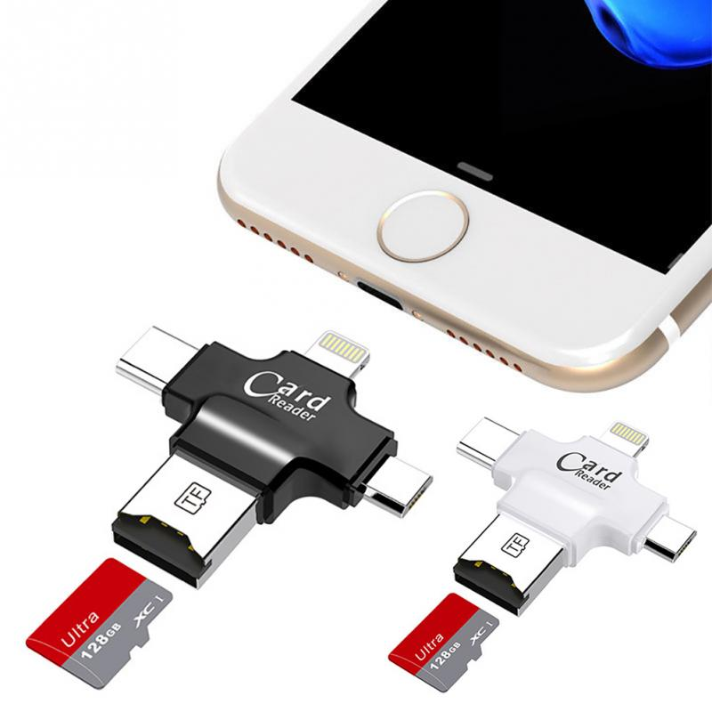 4 In 1 Usb Otg Card Reader For Iphone And Android (2)