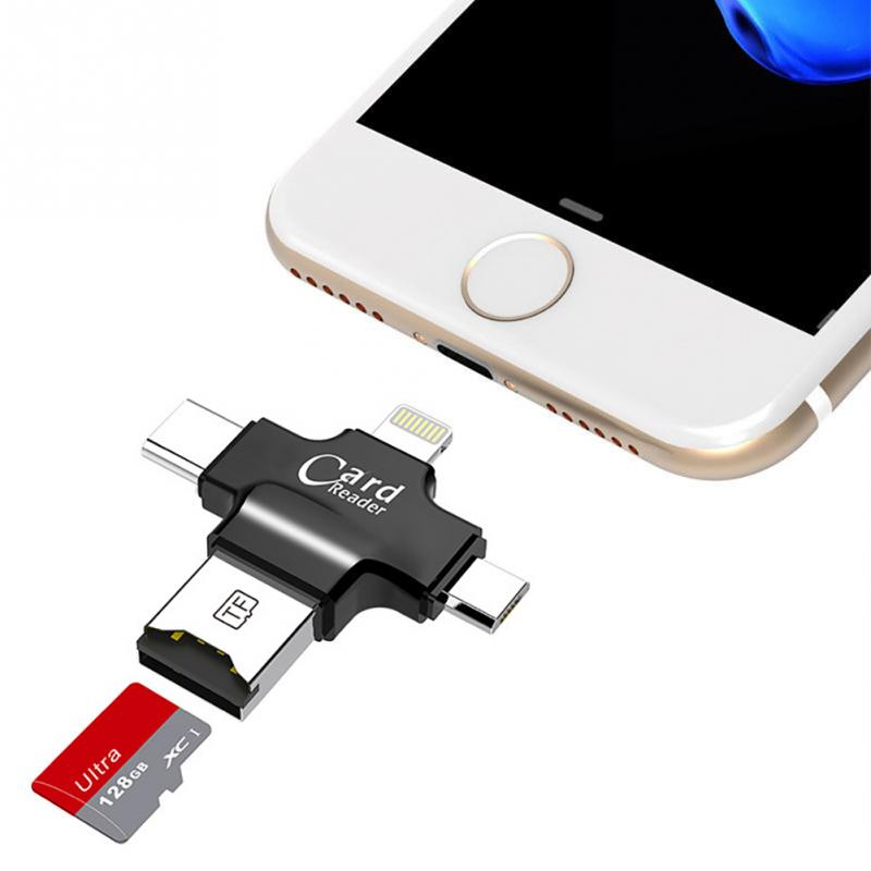 4 In 1 Usb Otg Card Reader For Iphone And Android (8)