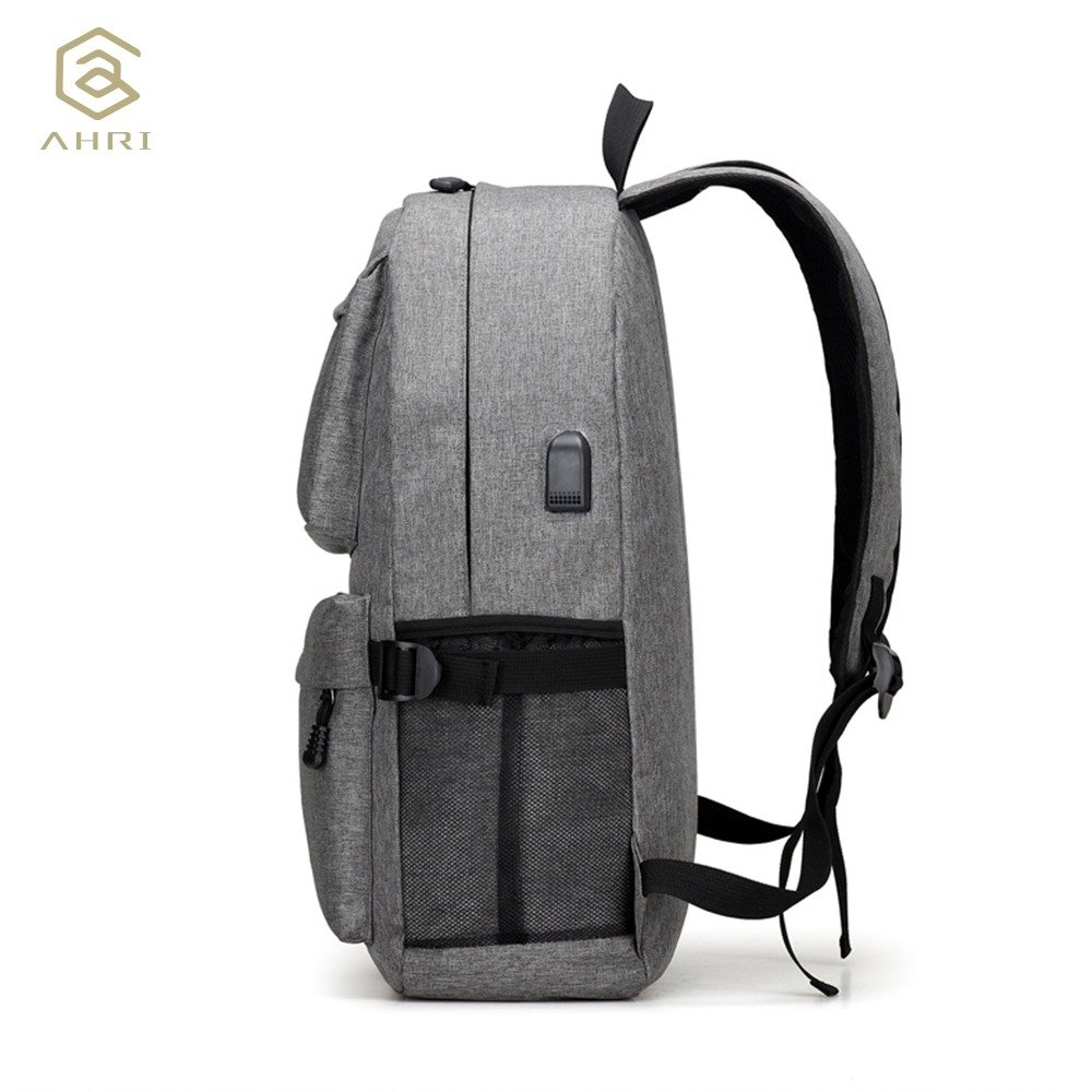 Ahri Usb Unisex Design Backpack Book Bags For School Backpack Casual Rucksack Daypack Oxford Canvas Laptop (2)