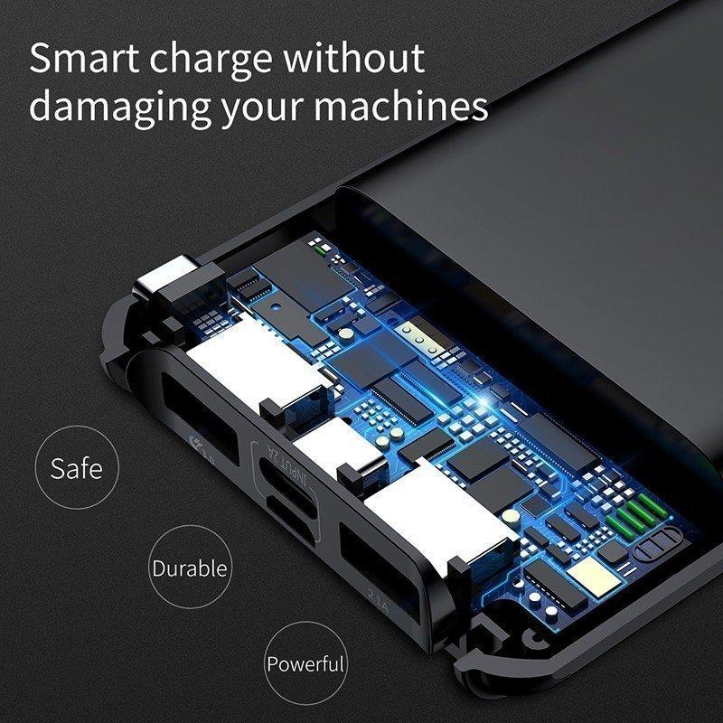 Baseus Quick Charge 3.0 Power Bank 10000mah (3)