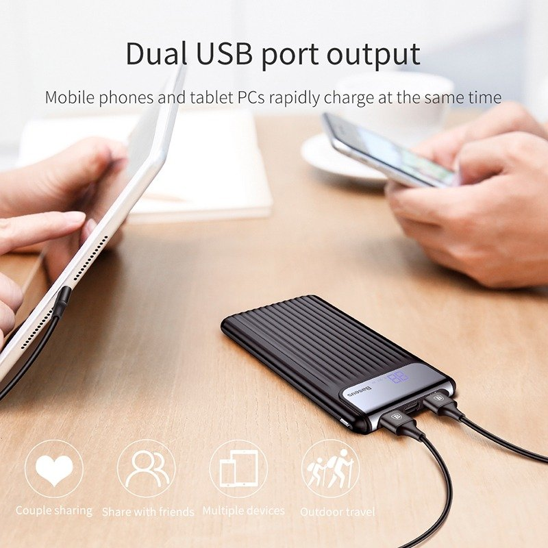 Baseus Quick Charge 3.0 Power Bank 10000mah (4)