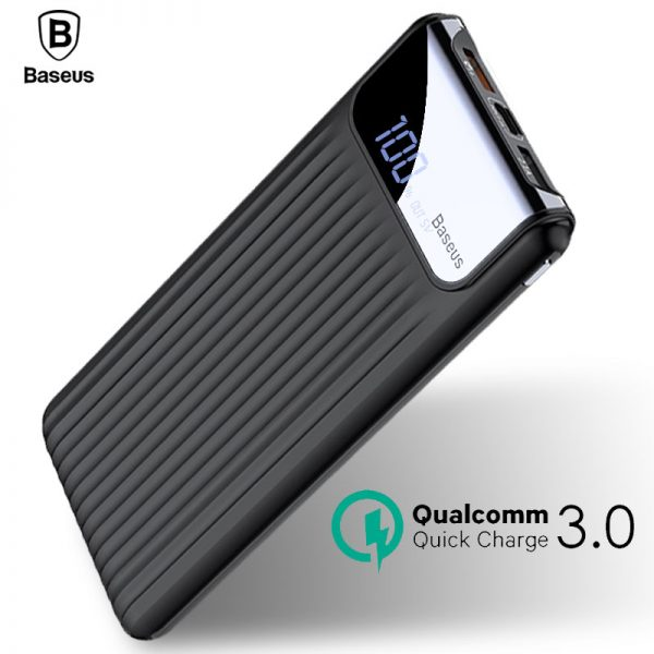 Baseus Quick Charge 3.0 Power Bank 10000mah (6)