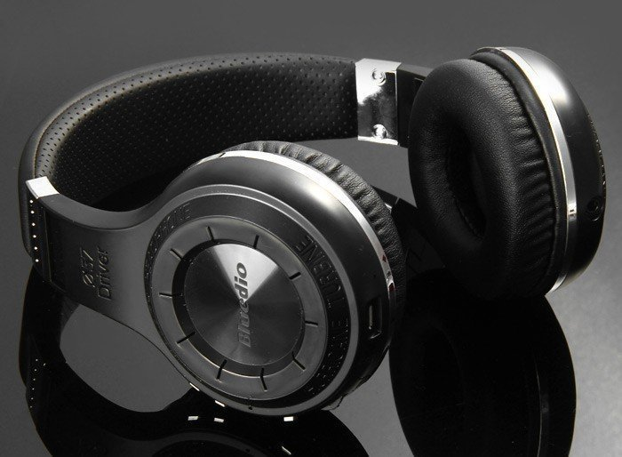 Bluedio H Plus Bluetooth Stereo Wireless Headphone 5