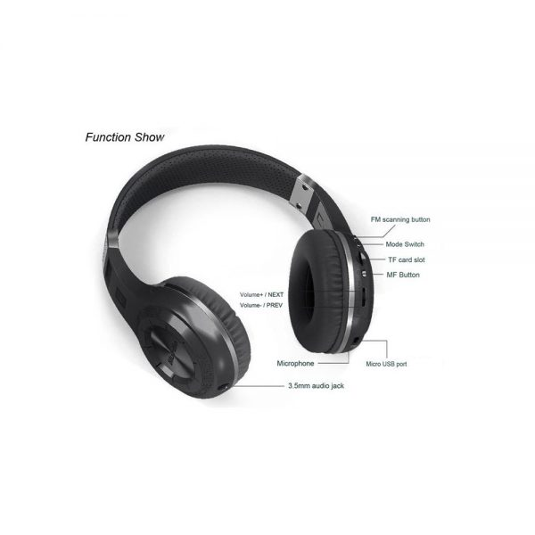 Bluedio H Plus Bluetooth Stereo Wireless Headphone 9