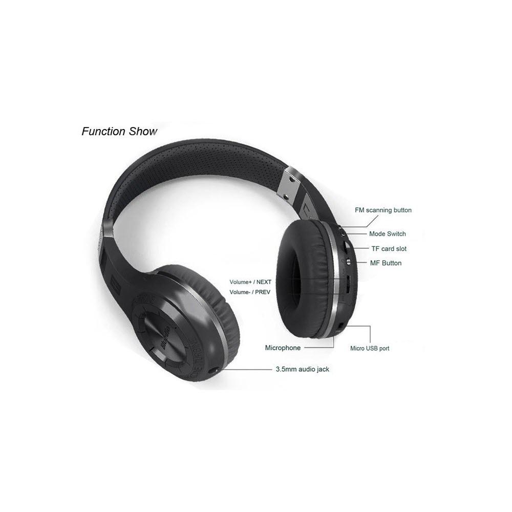 Bluedio H Plus Bluetooth Stereo Wireless Headphone 9