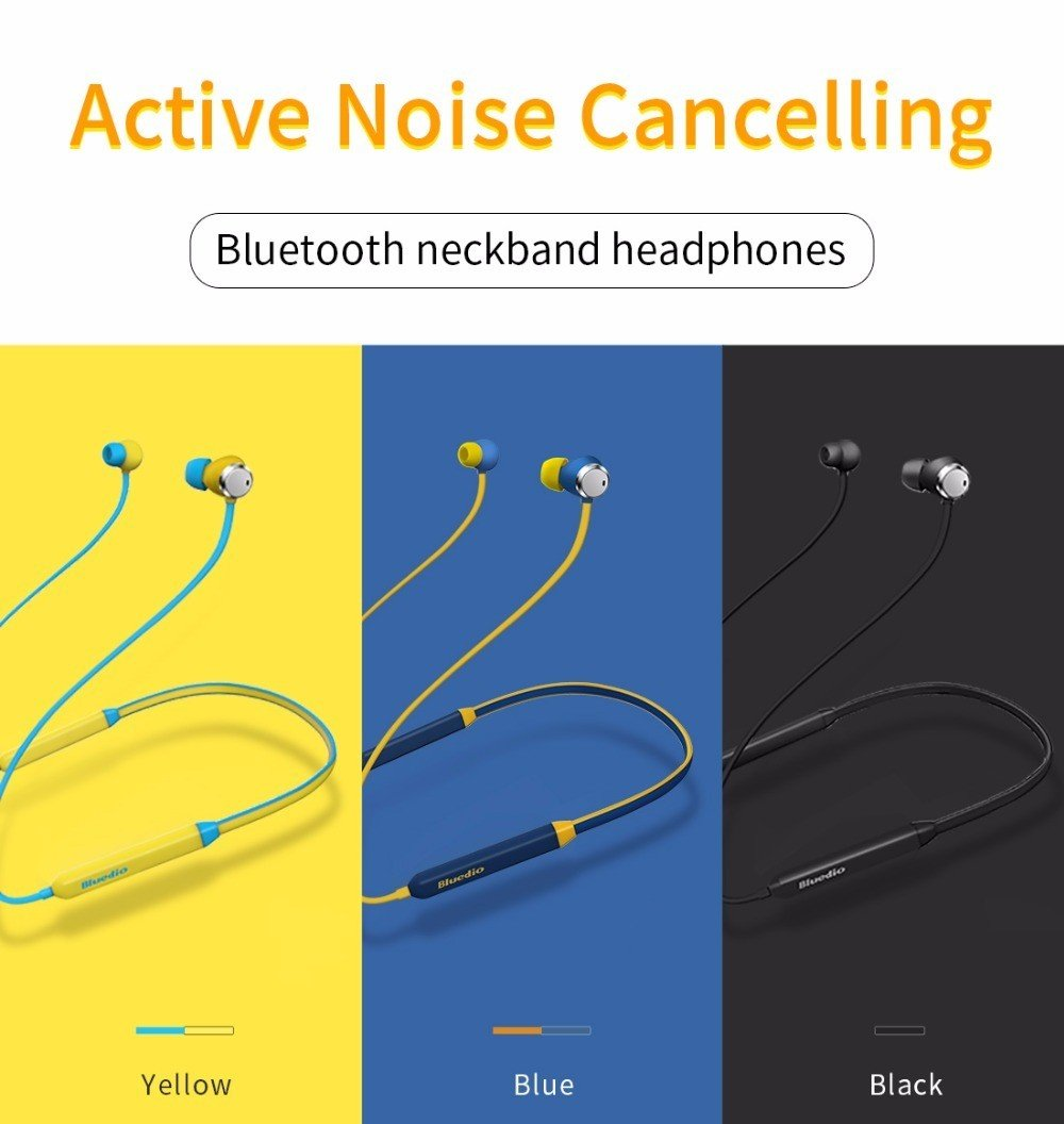 Bluedio Tn Active Noise Cancelling Sports Bluetooth Wireless Headset (6)