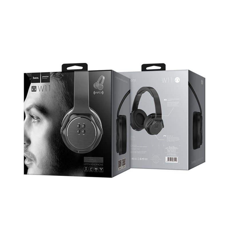 Hoco W11 Wireless And Wired Headset With Mic (4)