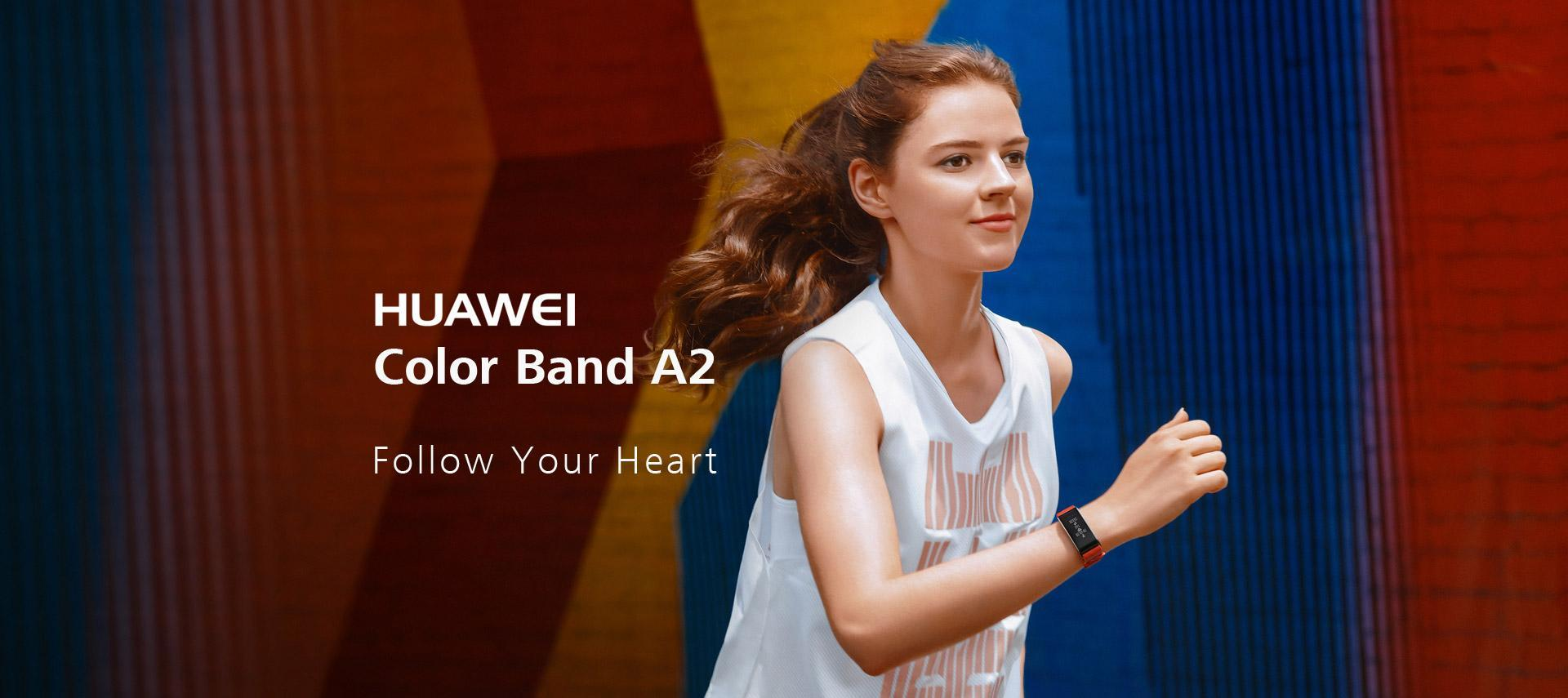 Huawei Color Band A2 Follow Your Heart