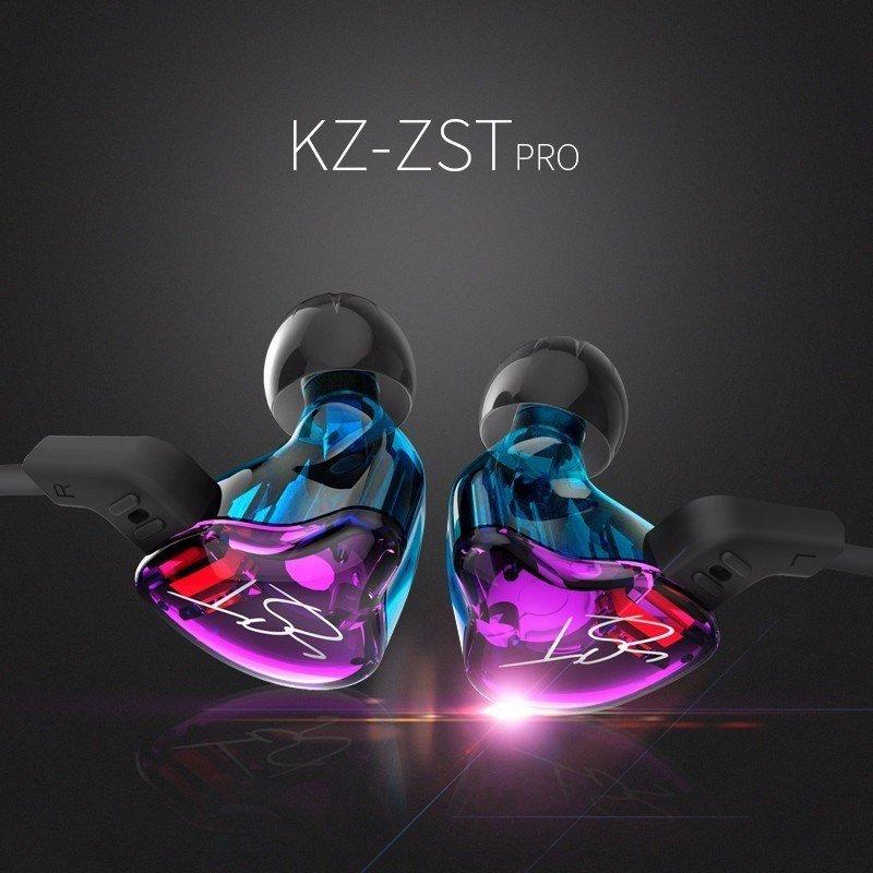 Kz Zst Pro Dual Driver Earphones (10)