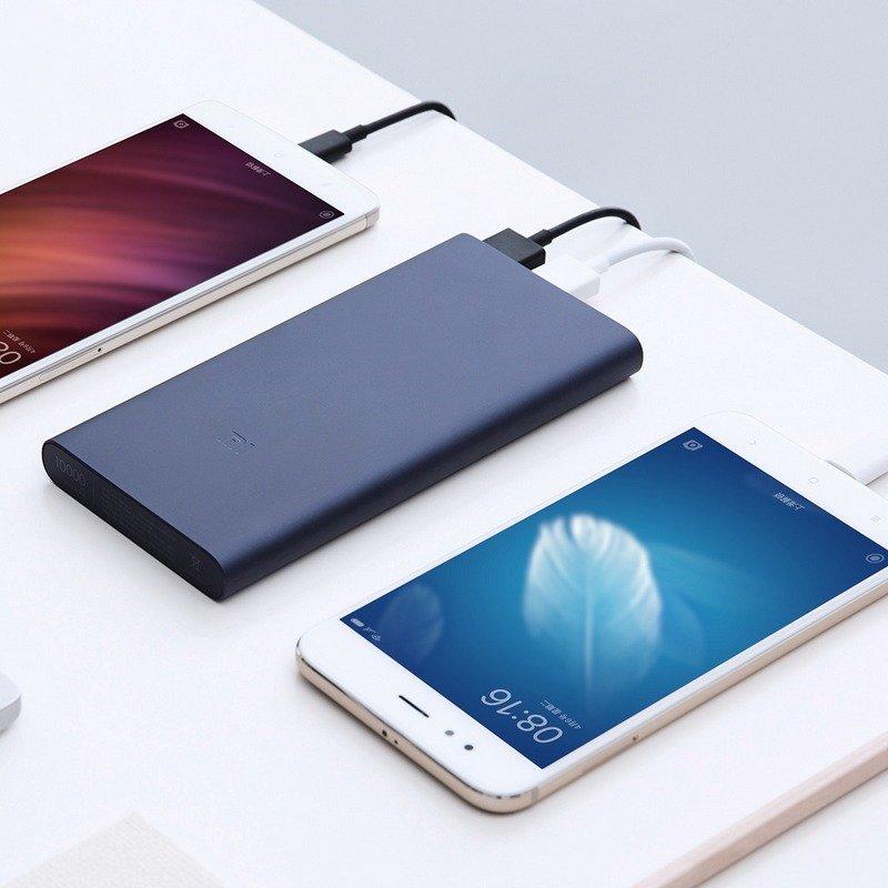 New 2018 Original Xiaomi Mi Power Bank 2 10000mah Dual Usb Output 18w Quick Charge 10000 3