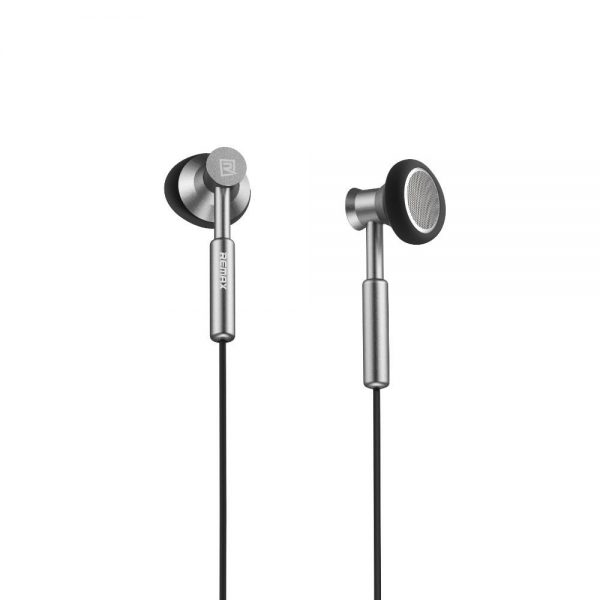 Remax 305m 3.5mm Wired Control Metal Headphone