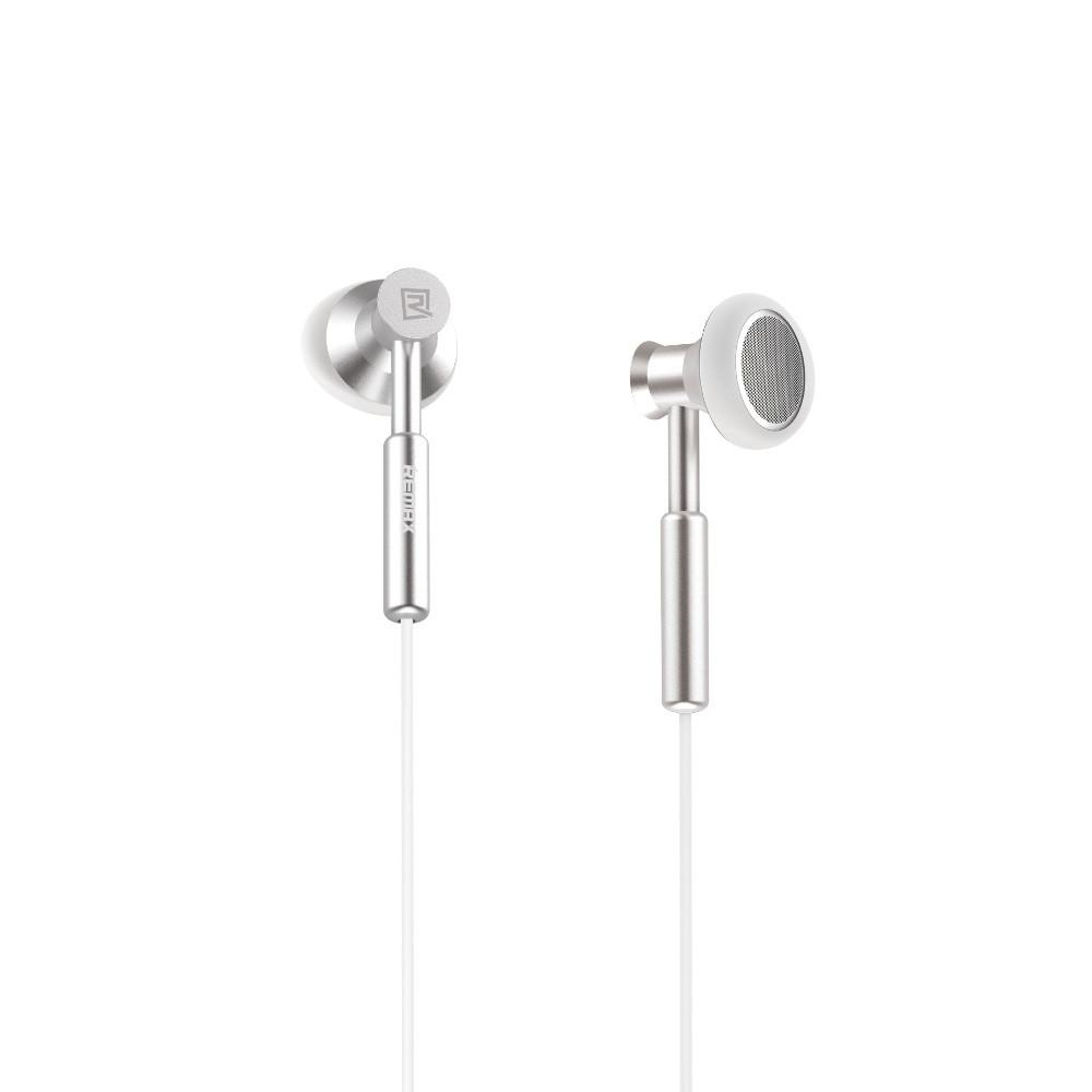 Remax 305m 3.5mm Wired Control Metal Headphone Mic