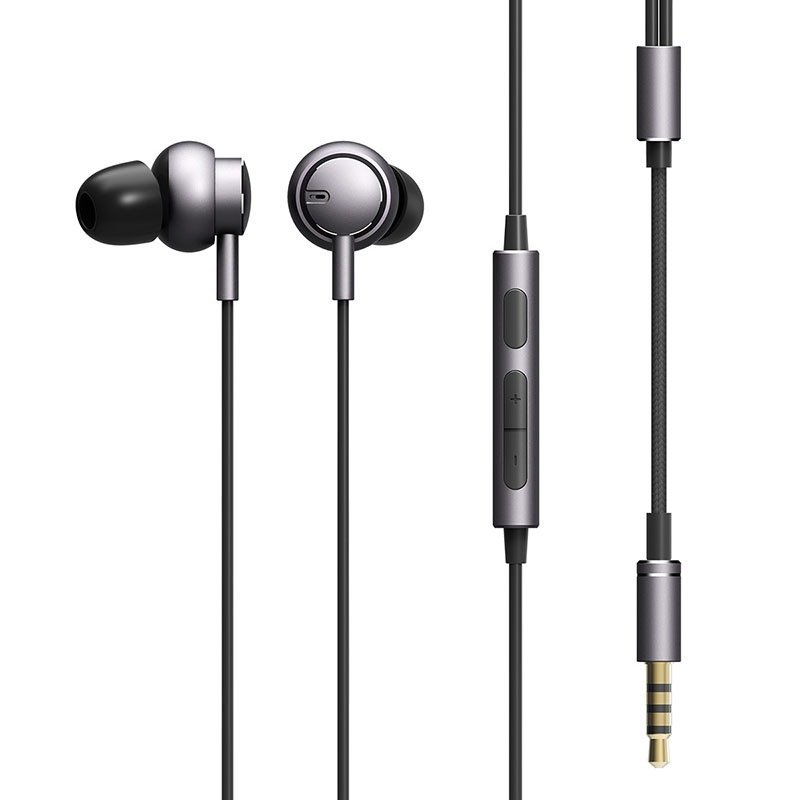 Rock Mubow Stereo Earphone Metal In Ear Wire Control With Mic 3 5mm For Iphone Android (4)