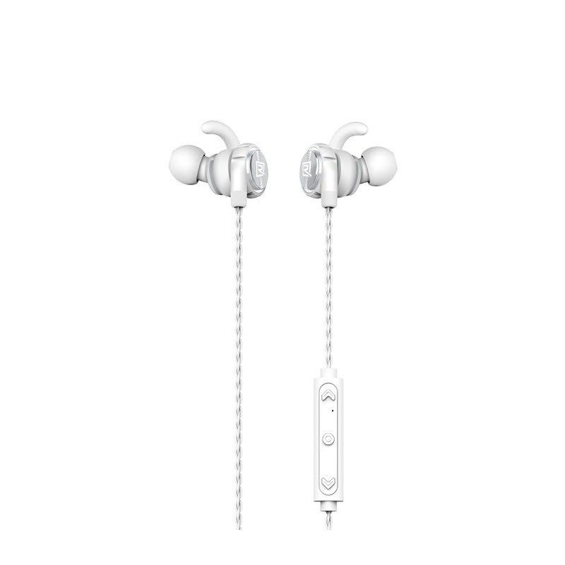 Remax Rb S10 Neck Mounted Bluetooth Headset White