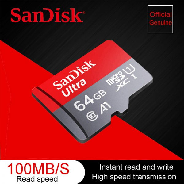 Sandisk Ultra Micro Sd Card 64 G Memory Card (1)