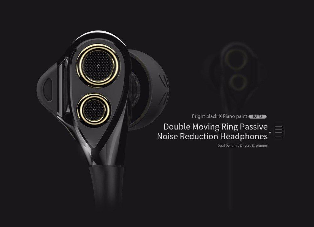 Uiisii Ba T8 Hifi Stereo Wired Earphone (8)