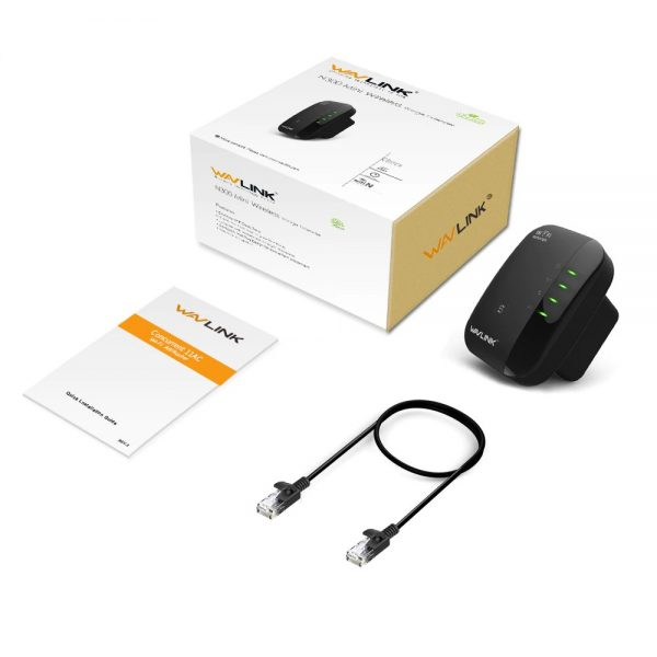 Wavlink N300 Wifi Repeater & Router (2)