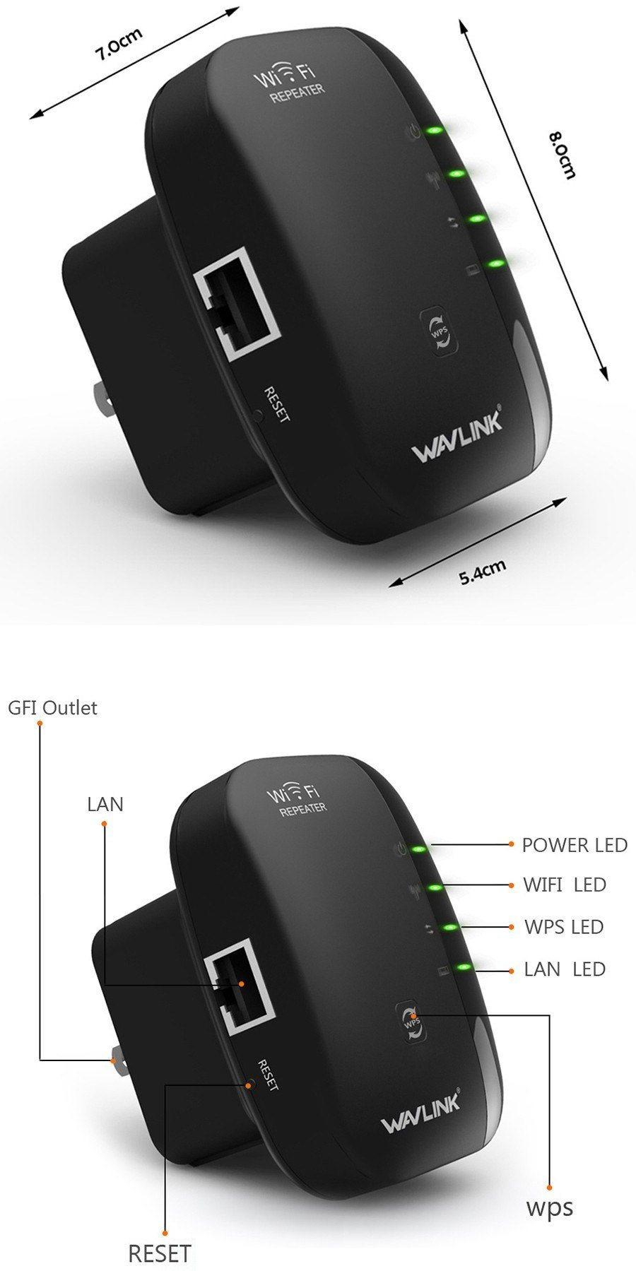 Wavlink N300 Wifi Repeater & Router (7)