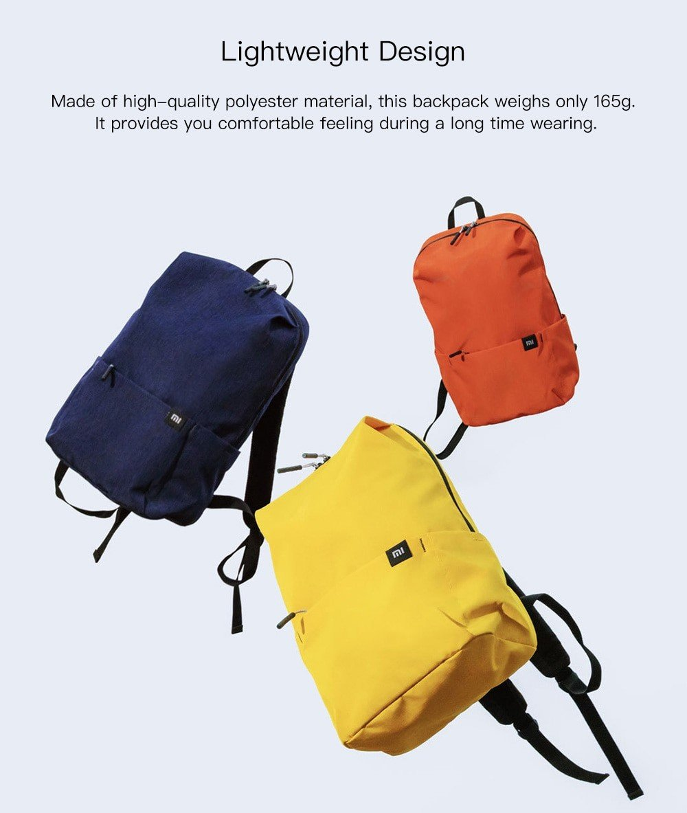 Xiaomi Mi Backpack 10l (6)