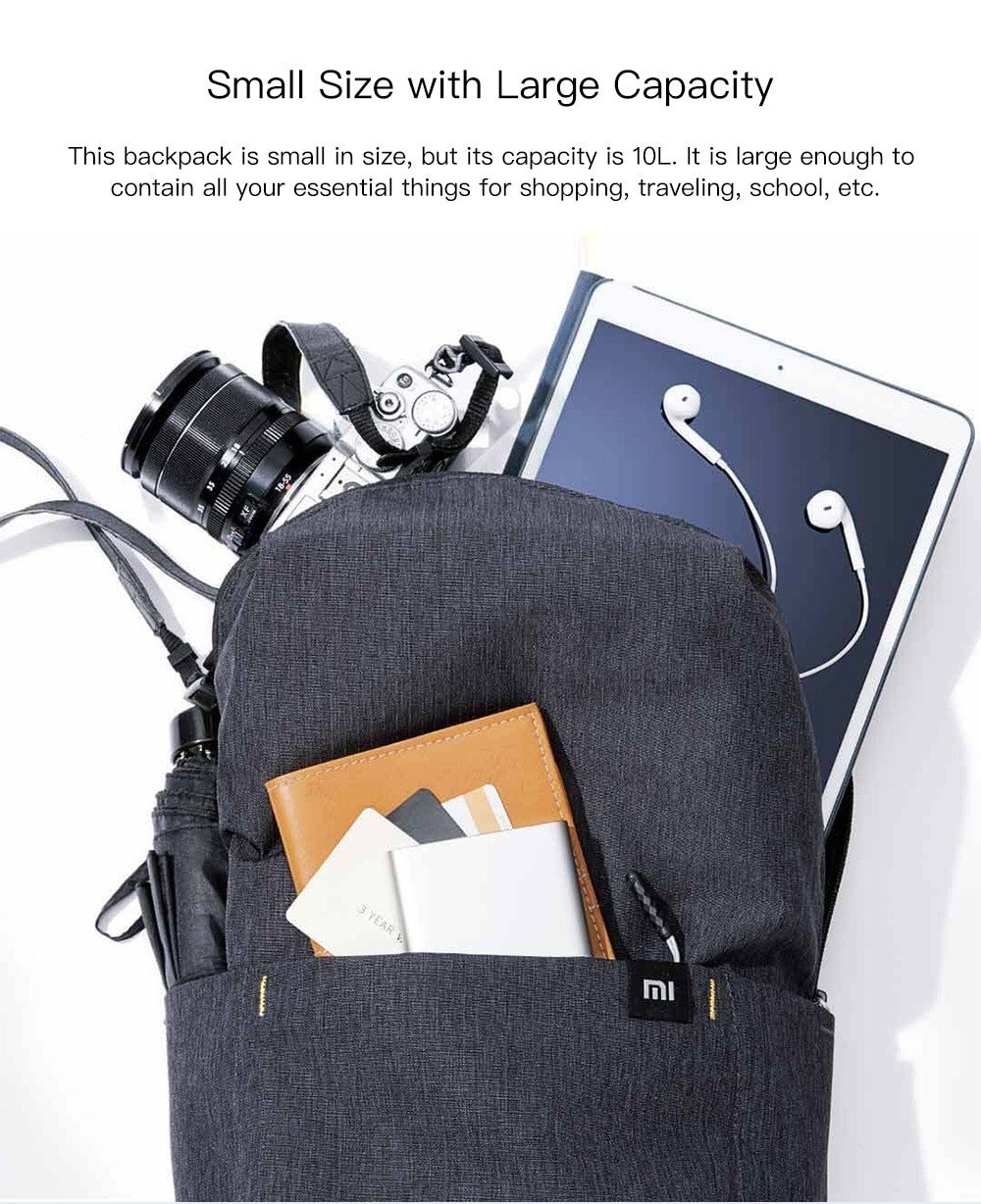 Xiaomi Mi Backpack 10l (8)