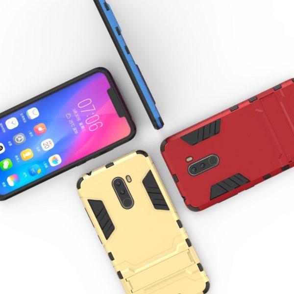 Xiaomi Pocophone F1 Shockproof Armour Case (5)