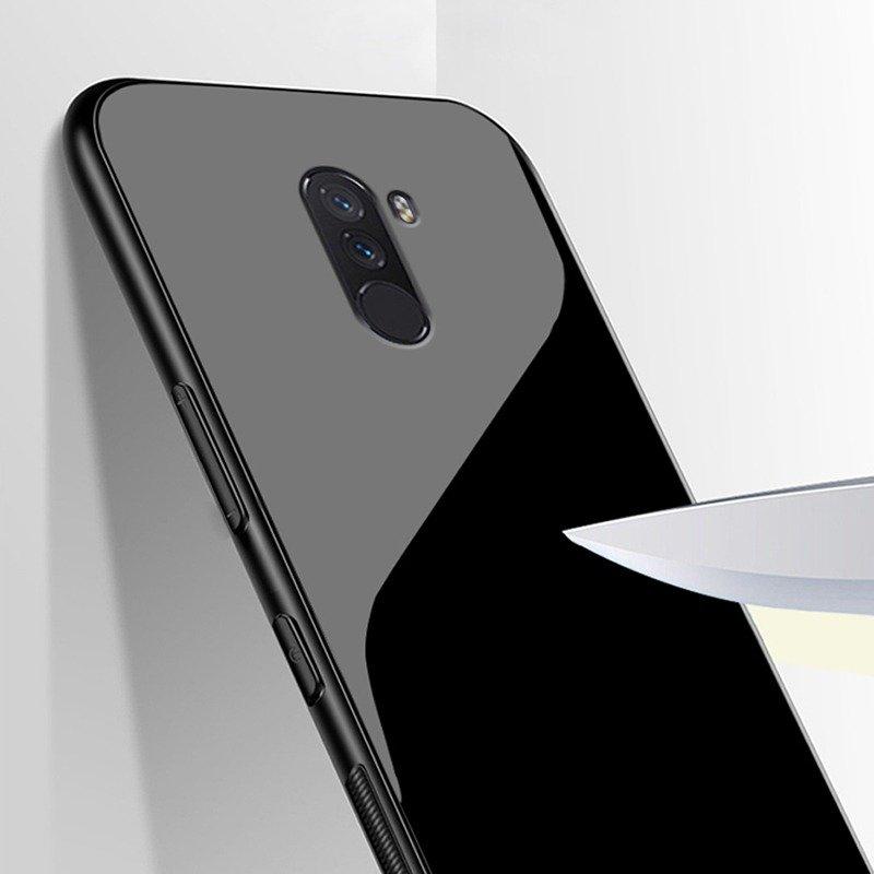pretty nice 265a0 bd59a Xiaomi Pocophone Poco F1 Protective Glass Case