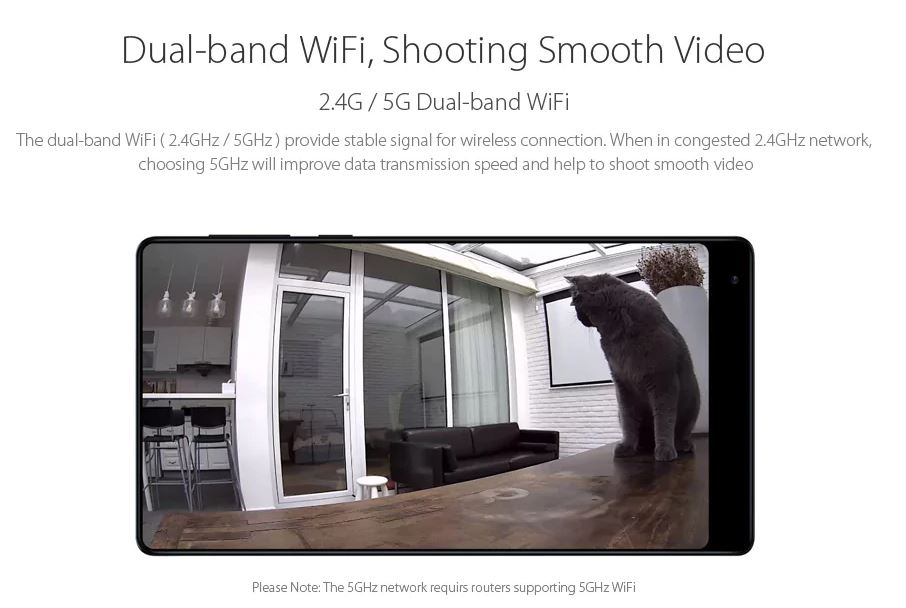 Xiaomi Mijia 1080p Smart Ip Camera Dualband