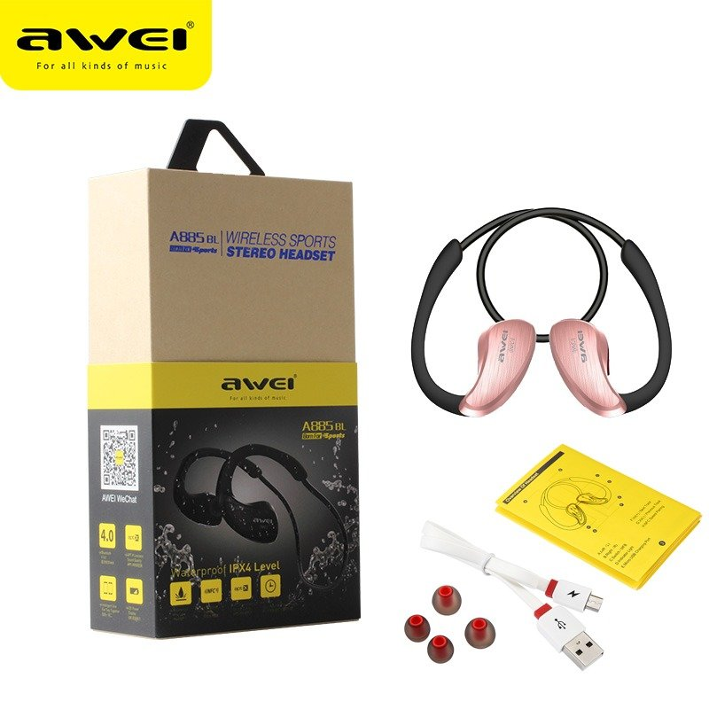 Awei A885bl Waterproof Earphone (2)