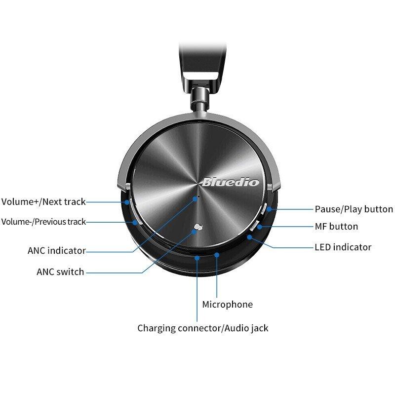 Bluedio T4s Bluetooth Headphones (6)