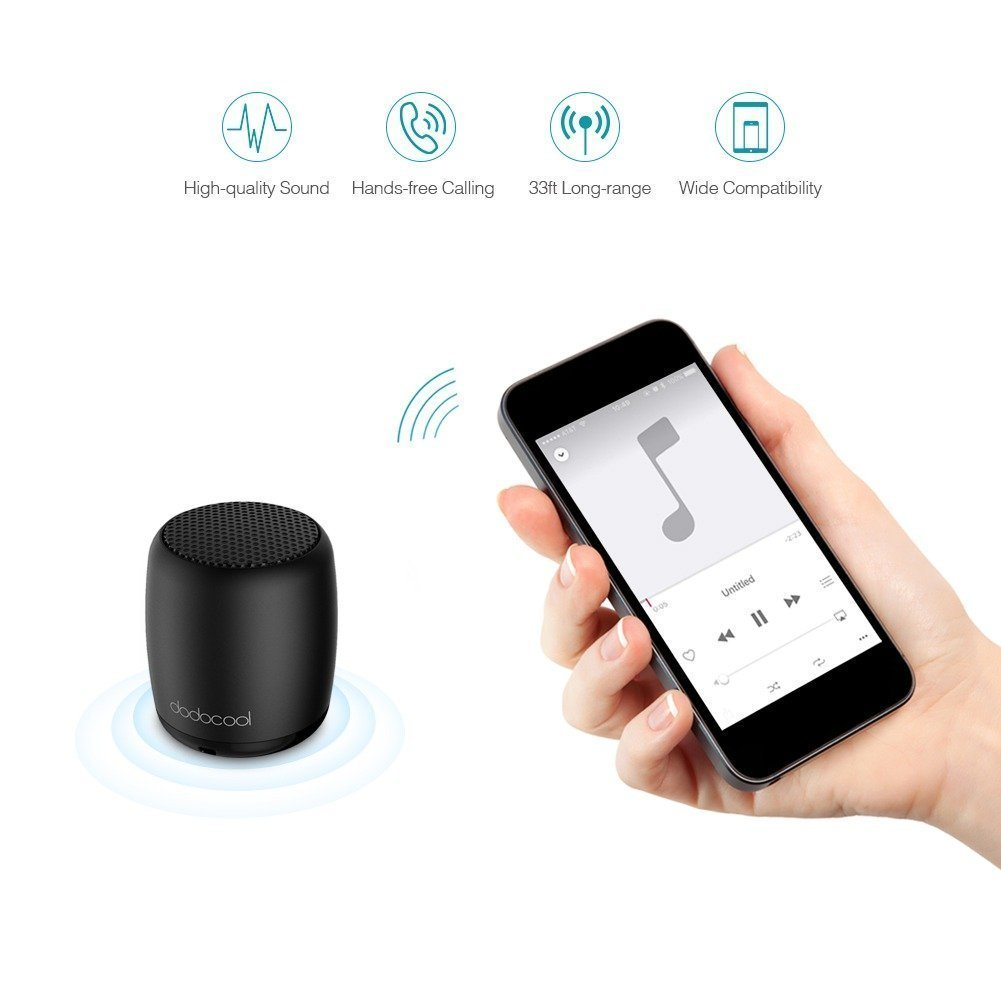 Dodocool Mini Bluetooth Speaker (9)