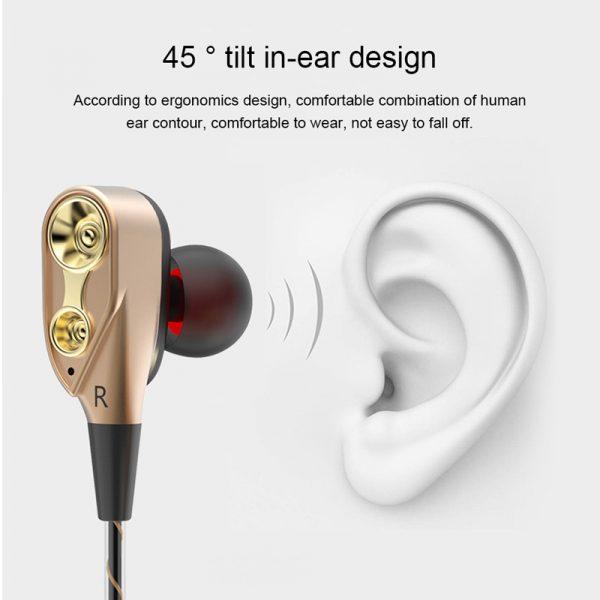 Double Unit Driver In Ear Earphone (15)