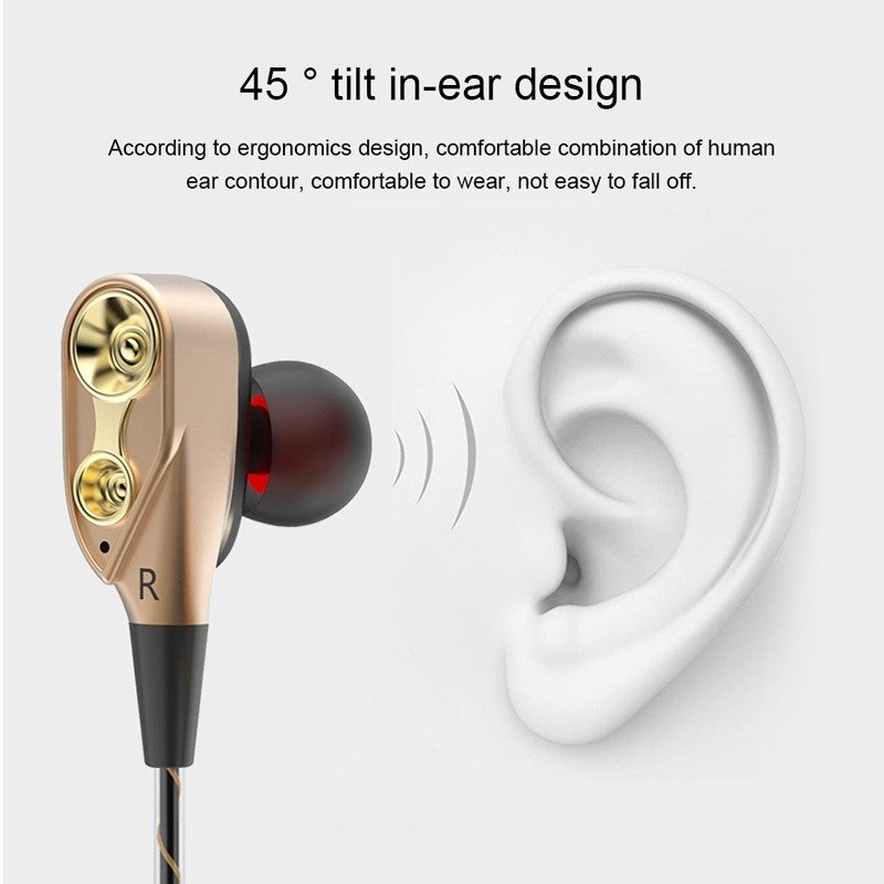 Double Unit Driver In Ear Earphone (15)
