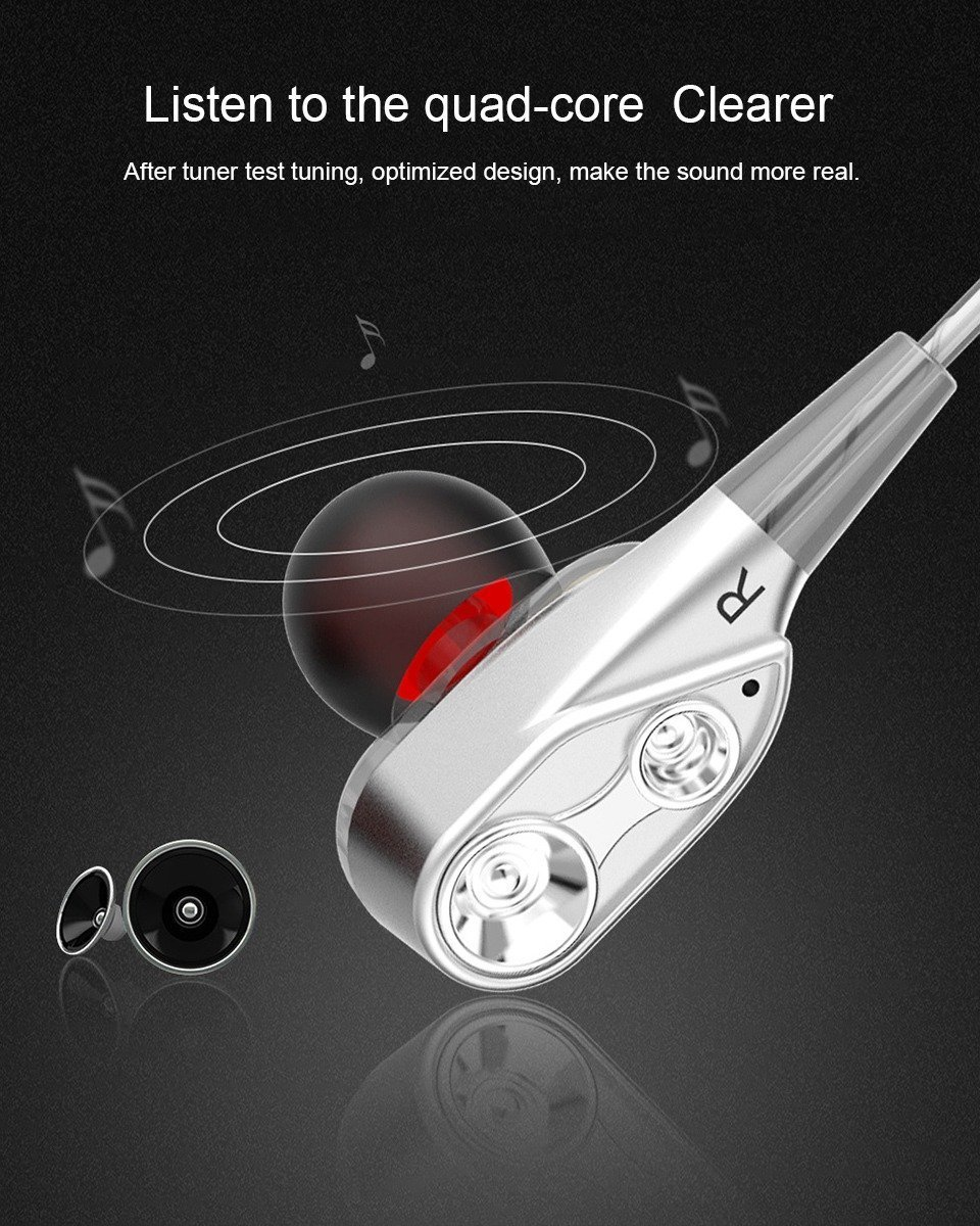 Double Unit Driver In Ear Earphone (2)