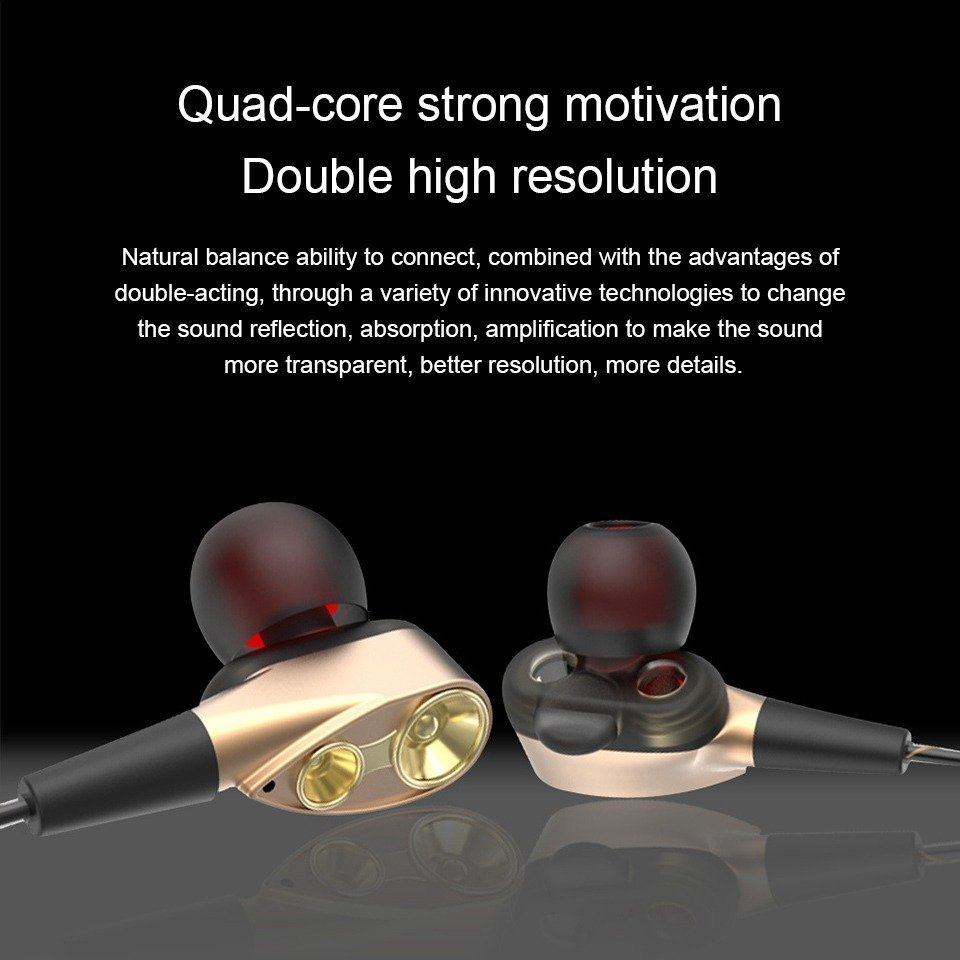 Double Unit Driver In Ear Earphone (8)
