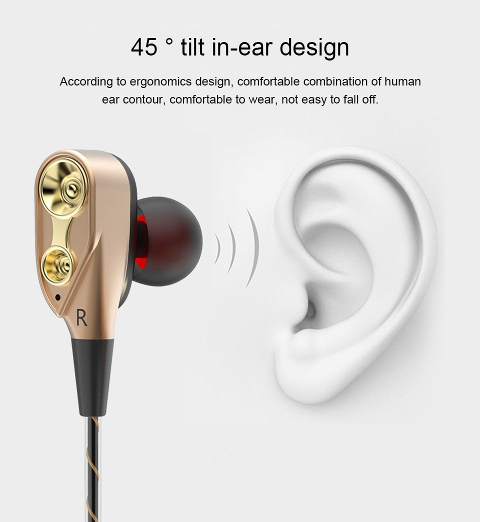 Double Unit Driver In Ear Earphone (9)