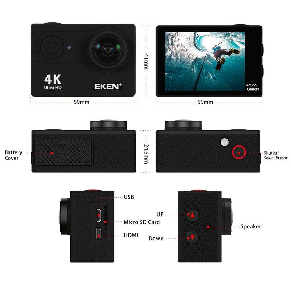 Instruction Eken W9s Sport Camera