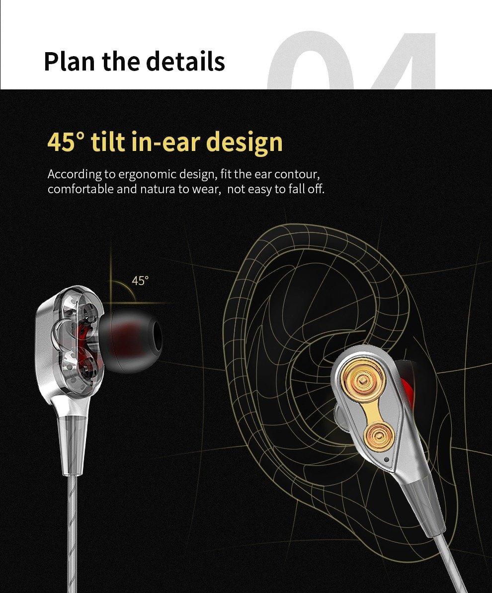 Qkz Ck8 Dual Driver Earphones (20)