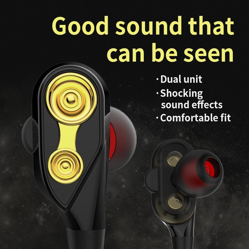 Qkz Ck8 Dual Driver Earphones (5)