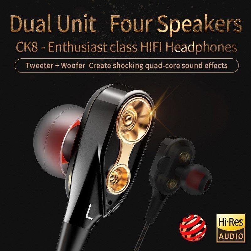 Qkz Ck8 Dual Driver Earphones (8)