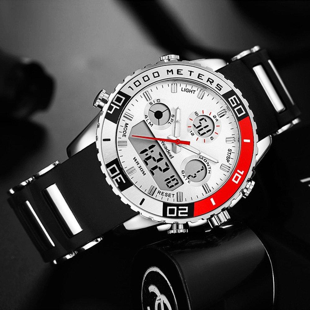 Readeel Digital Analog Dual Time Wrist Watch (16)