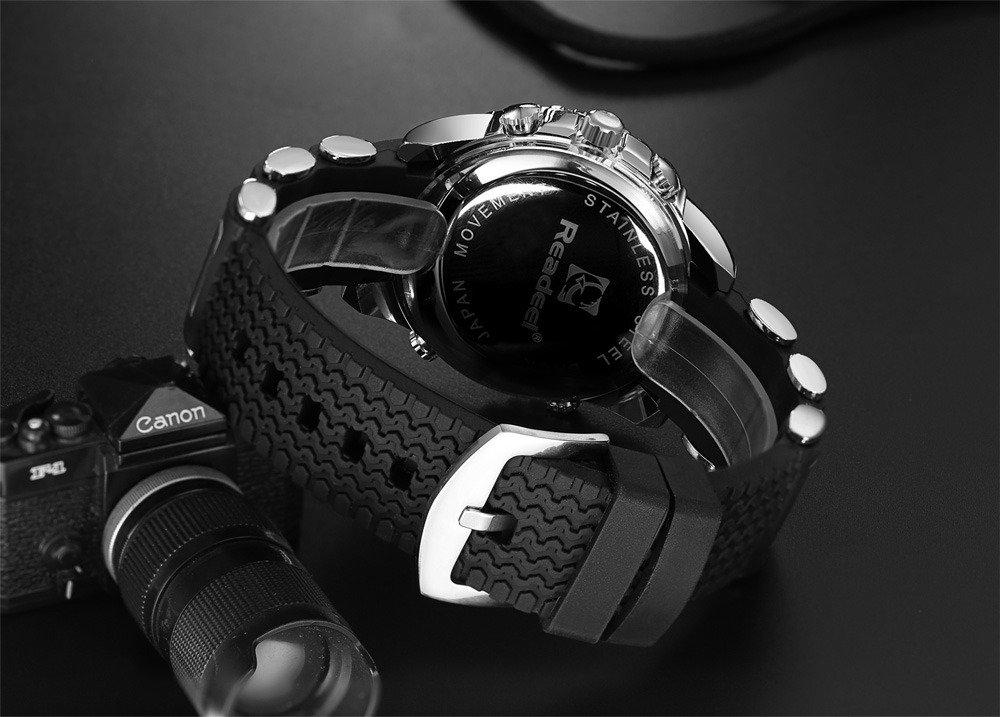 Readeel Digital Analog Dual Time Wrist Watch (5)
