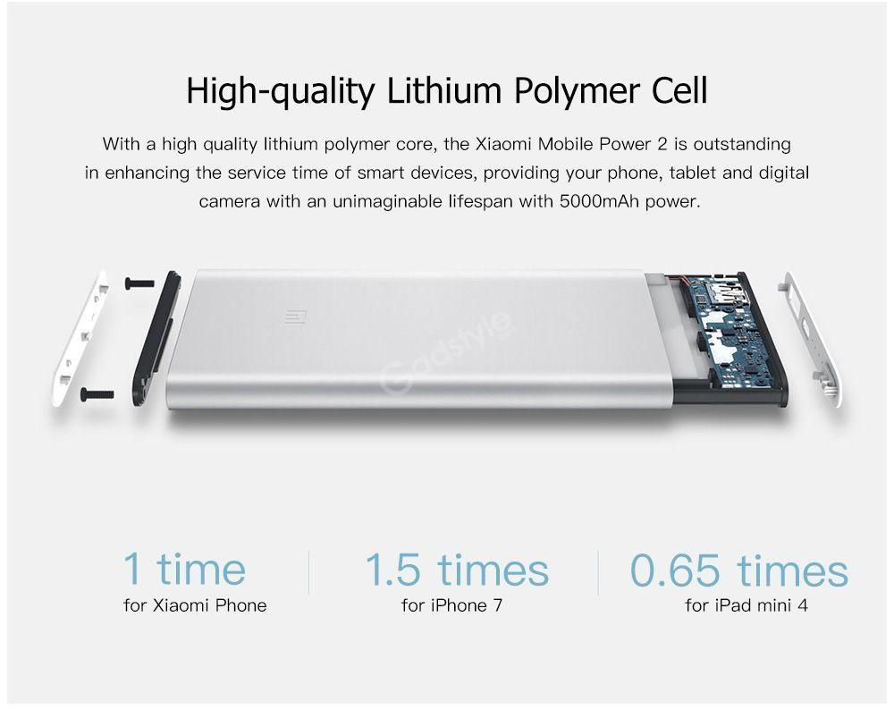 Xiaomi 10000mah Mi Power Bank 2 (6)