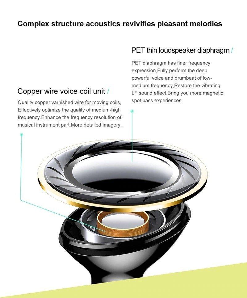 Baseus S16 Professional In Ear Bluetooth Earphone (1)
