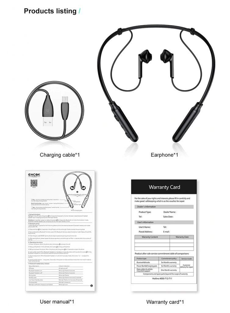 Baseus S16 Professional In Ear Bluetooth Earphone (8)