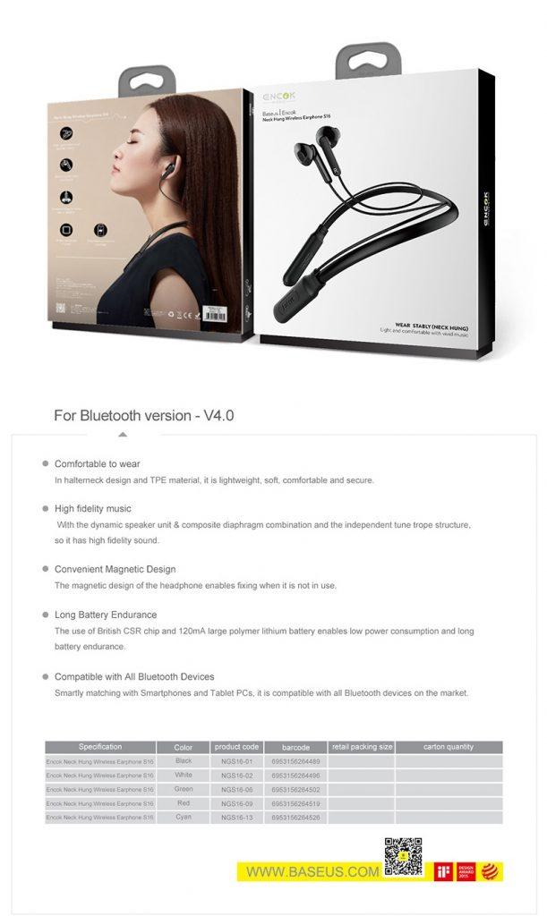 Baseus S16 Professional In Ear Bluetooth Earphone (9)