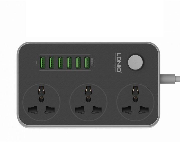 Ldnio 6 Usb Ports And 3 Power Socket Extension (12)