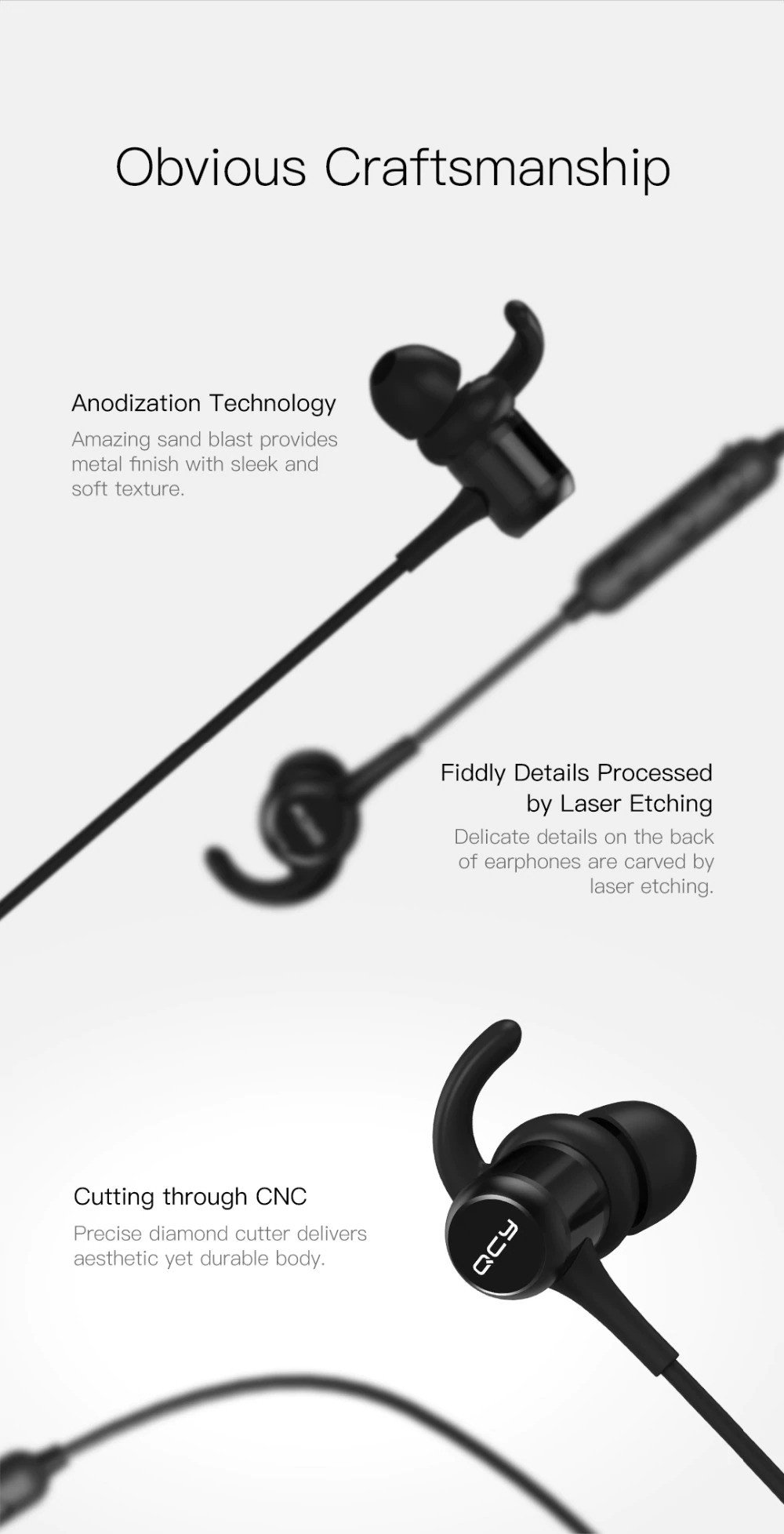 Qcy M1c Wireless Bluetooth Earphone (7)