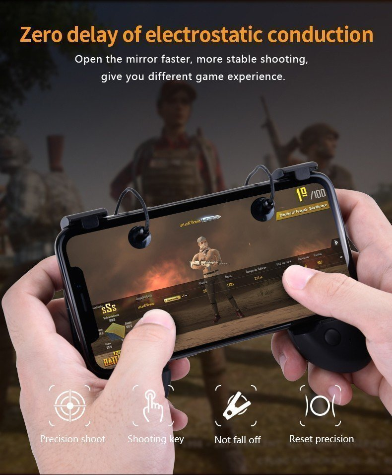 Six Finger Pubg Mobile Game Controller (2)