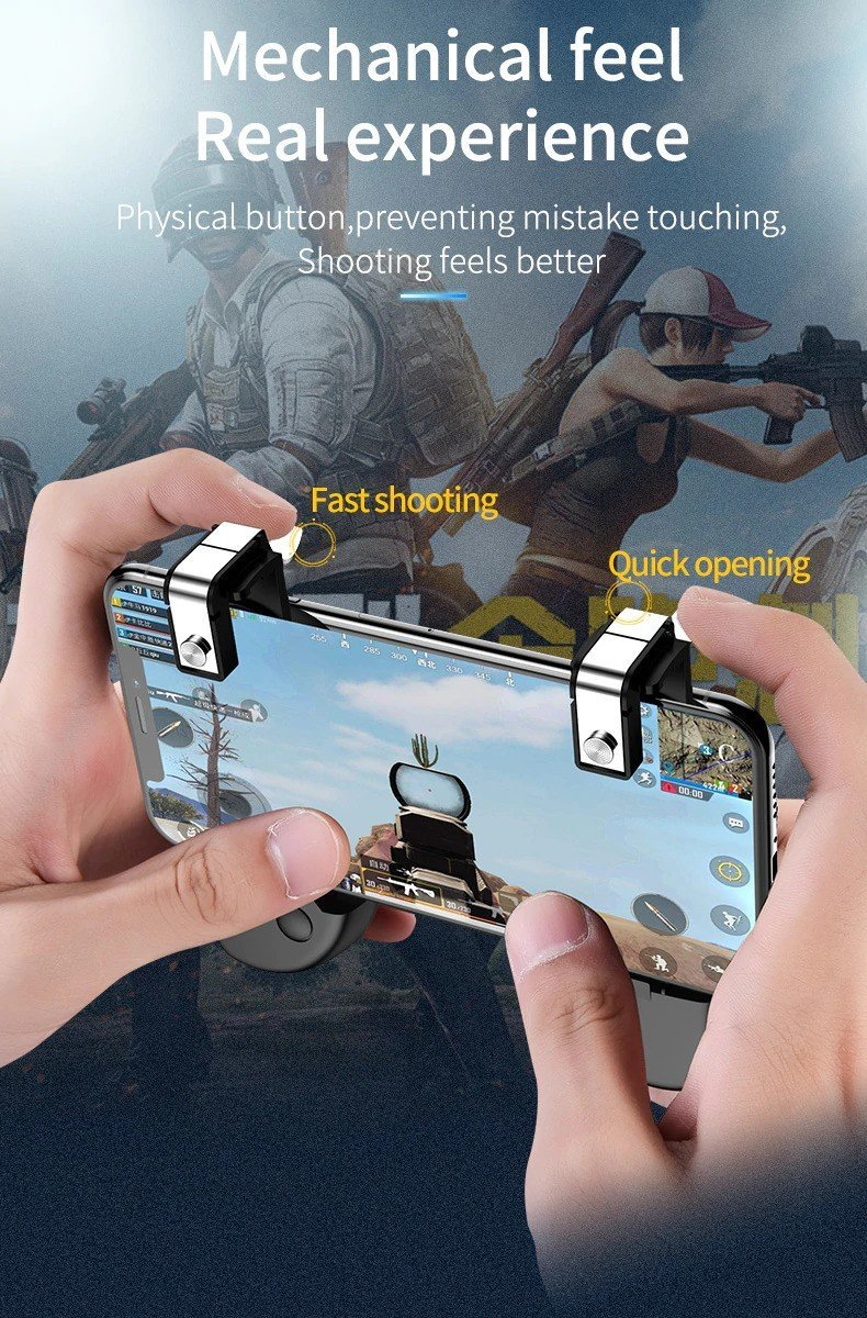 Six Finger Pubg Mobile Game Controller (4)